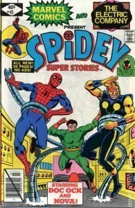 Spidey Super Stories #41 cover