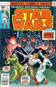 Star Wars #4 (30 cent) cover